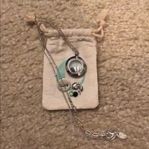 Origami Owl Necklace & Charms
